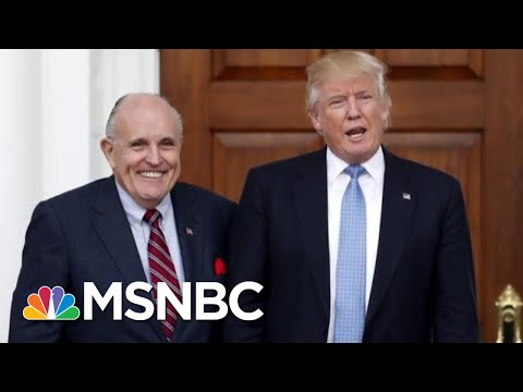 "New Dance Craze: ""The Giuliani"" Walk Back After Collusion Fumble 