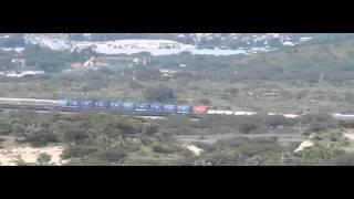 KCSM en Empalme Escobedo y tunel No 2 de la linea BD