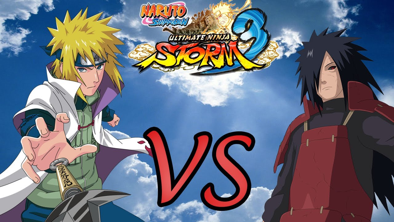 Naruto Ninja Storm Minato Namikaze Vs Madara Uchiha Edo ...