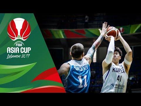 HIGHLIGHTS: Korea vs. Kahakhstan (VIDEO) FIBA Asia Cup 2017 | August 10