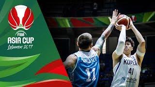 Korea v Kazakhstan - Highlights - FIBA Asia Cup 2017
