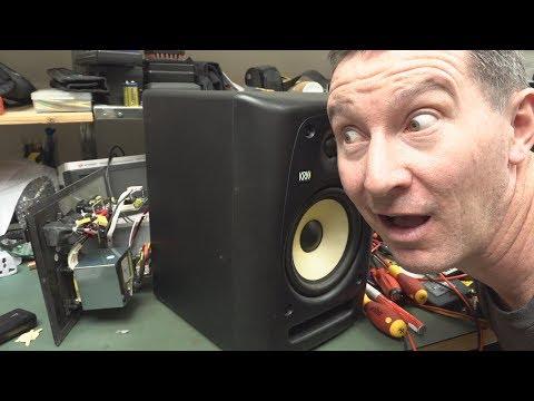 EEVblog #1118 - Why Are Studio Monitors Noisy?