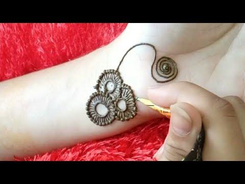 Fancy Jewellery Henna Mehndi Design How To Apply Jewellery Design