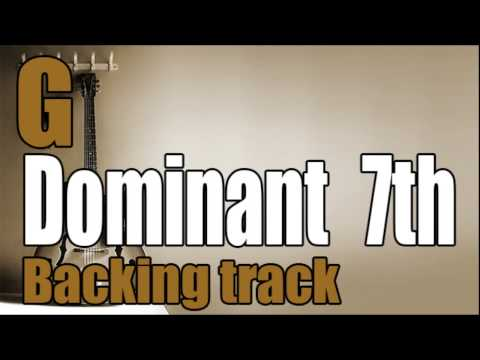 Dominant 7th Jazz Backing Track In G