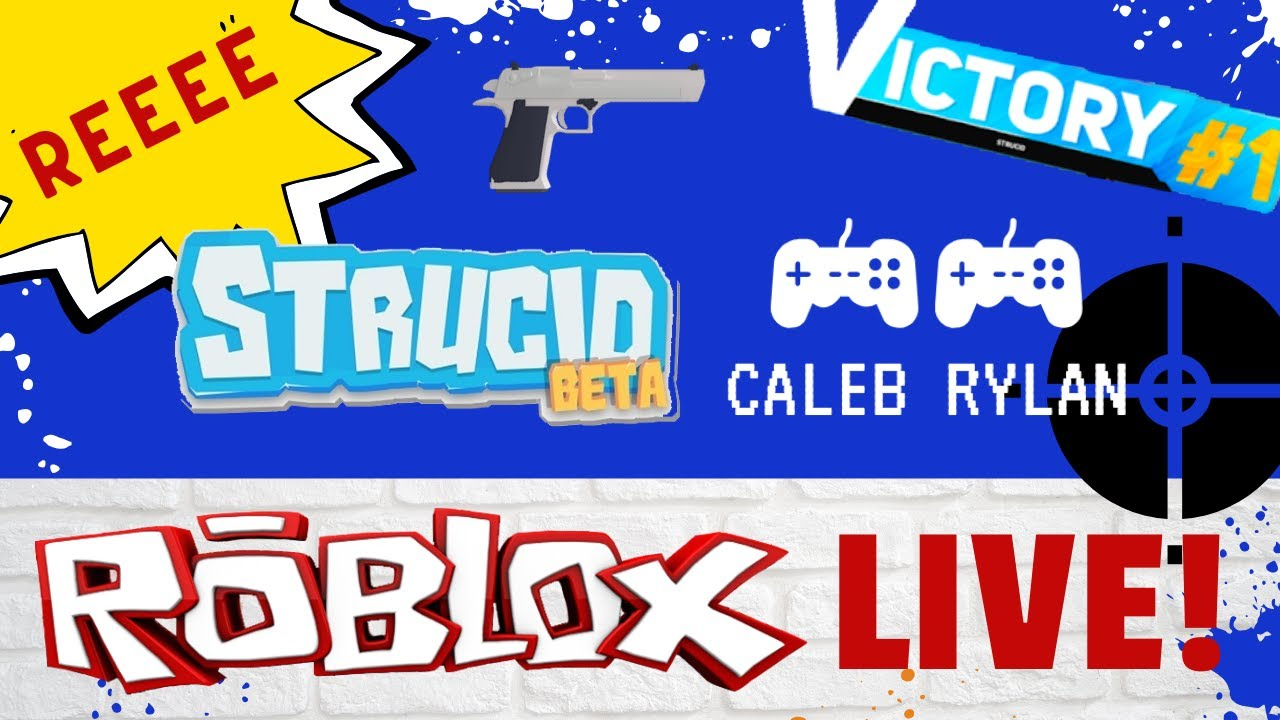 ROBLOX LIVE - STRUCID BOX FIGHTS - JOIN THE VIP! - - Caleb ...