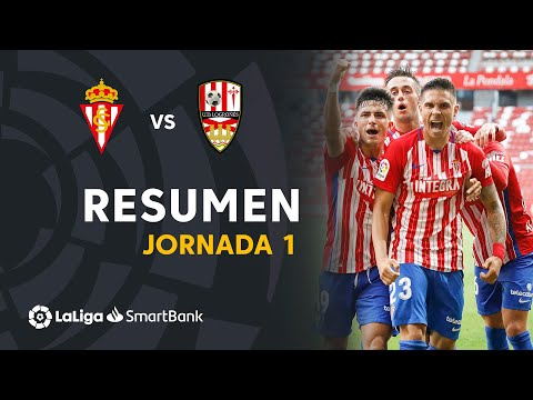 Gijon Logrones Goals And Highlights