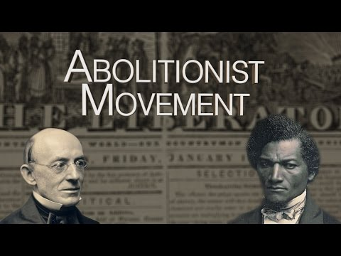HIST 2111 28 - Abolitionist Movement