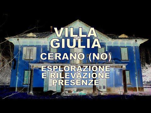 Villa Giulia - esplorazione e rilevazione presenze