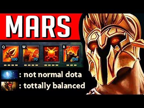 ИЗ ЗА ЭТОГО МАРС ВЕЧНО В БАНЕ | NEW HERO MARS DOTA 2 thumbnail