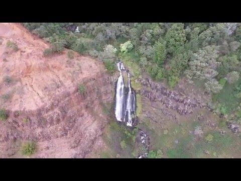 Drone Flight - Waimea Canyon & Waipo'o Falls