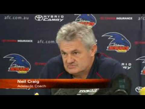 Crows and Port name AFL teams
