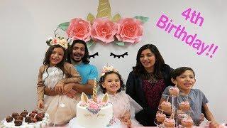 ashlynns 4th birthday surprise party