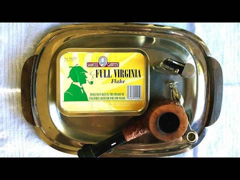 "Pipe Tobacco Review: Samuel Gawith ""Full Virginia Flake"""