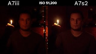 Sony A7III vs A7S2 - EXTREME Lowlight Comparison