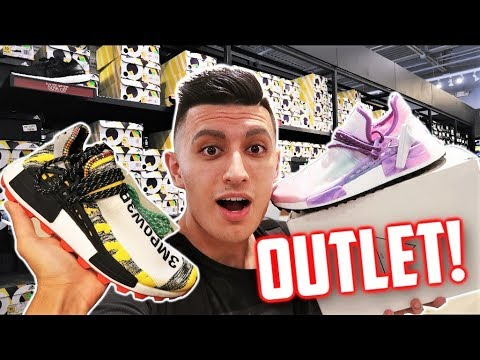 Best Adidas Outlet Pharrell Nmd Found 2 Pairs Youtube