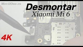 Xiaomi Mi 6 Desmontar