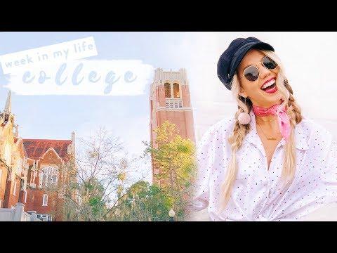 COLLEGE WEEK IN MY LIFE | University of Florida ✨