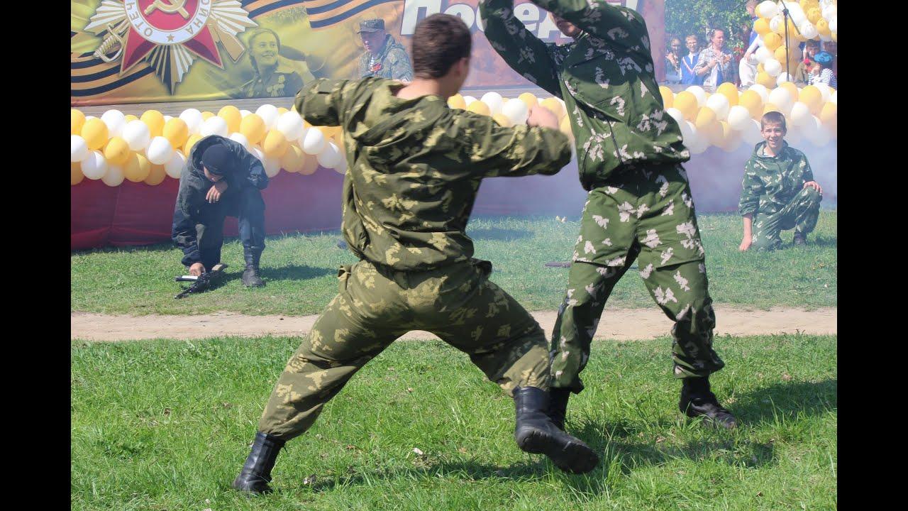 Реальный рукопашный бой видео