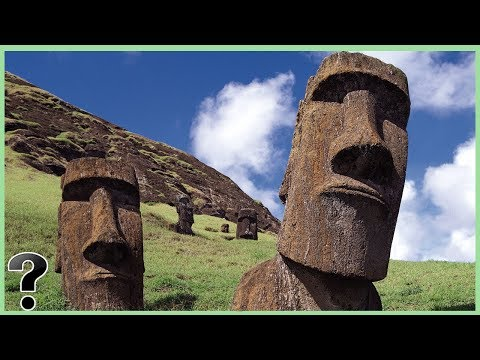 Where Did The Moai Statues On Easter Island Come From?
