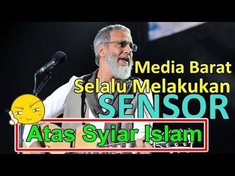 PENYANYI TERKENAL INGGRIS INI MENGUNGKAP BAHWA MEDIA BARAT SELALU MEMBLOKIR SYIAR ISLAM