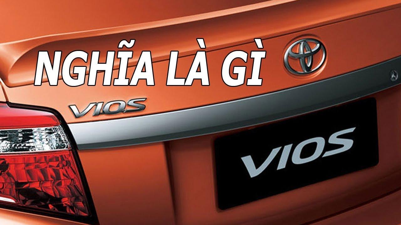 Tên gọi các mẫu xe ô tô Toyota có ý nghĩa gì   Lucky Luan