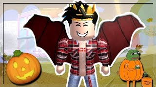 He seems weird... NEW ROYALE HIGH SCHOOL AUTUMN UPDATE!! (Clothes, Faces and more!)