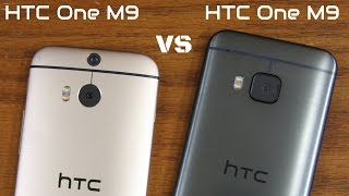 HTC One M9 vs HTC One M8 Full Comparison