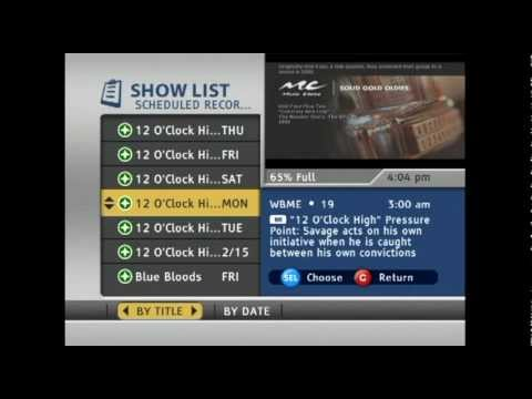 Time Warner Cable Dvr Recording Dirty Trick 2 Youtube