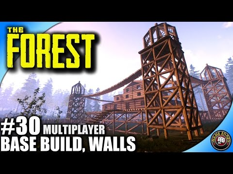 The Forest Let's Play EP 30 - Effigies, Base Build - Multiplayer W/ Kage848
