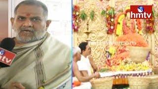 Scholar Venkateswara Sastry About Benefits Of Pushparchana | Durga Temple | Vijayawada | hmtv News