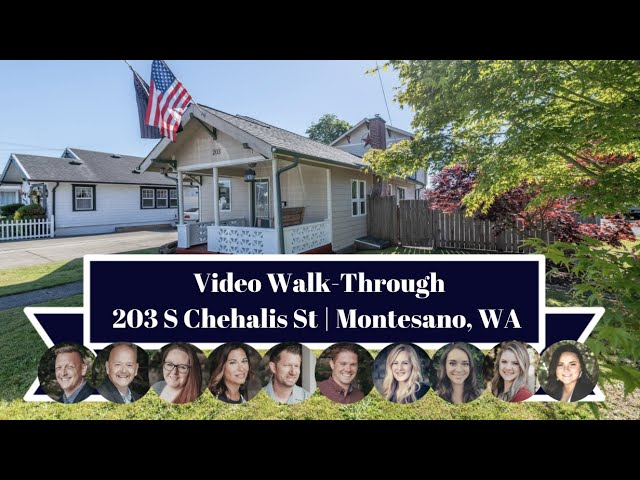 203 S Chehalis St   Montesano, WA   Video Walk-Through