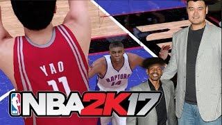 the shortest player of all time vs the tallest player of all time   nba 2k17 challenge