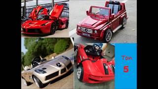 видео: Топ 5 детских электромобилей из Китая