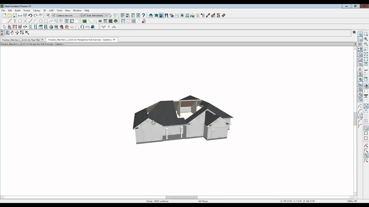 A difficult roof system in Home Designer Pro 2016 - YouTube