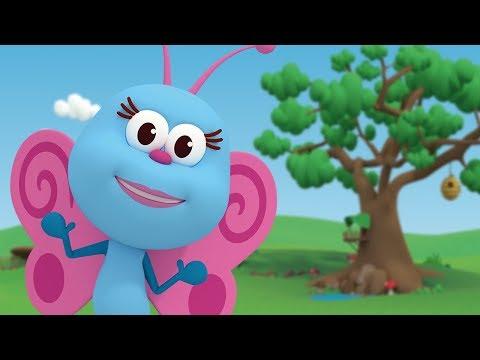 Бабочка-красавица - детские песни  | Детское Королевство