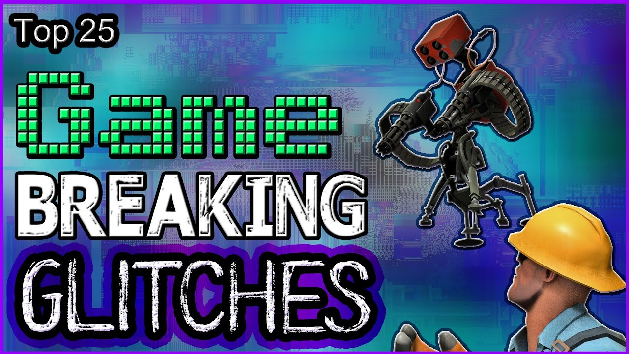 Top Game Breaking Glitches YouTube - 26 terrifying video game glitches hilarious