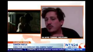 Director colombiano ganador de la Palma de Oro en Cannes habla en NTN24