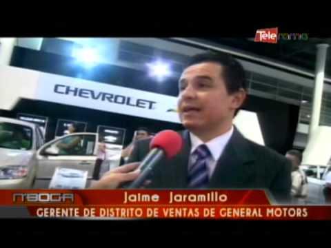 Chevrolet presenta en Autoshow nuevos modelos de vehículos