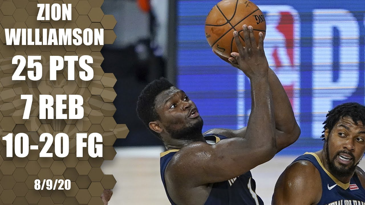 Zion Williamson highlights: 25 points in 27 minutes vs. Spurs | 2019-20 NBA Highlights