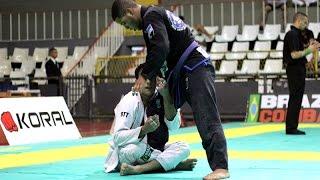 Isaque Bahiense x Leon Denny Zambelli Brito  - Rio International Open IBJJF Championship 2014