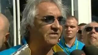 Flavio briatore monza 2006 interview
