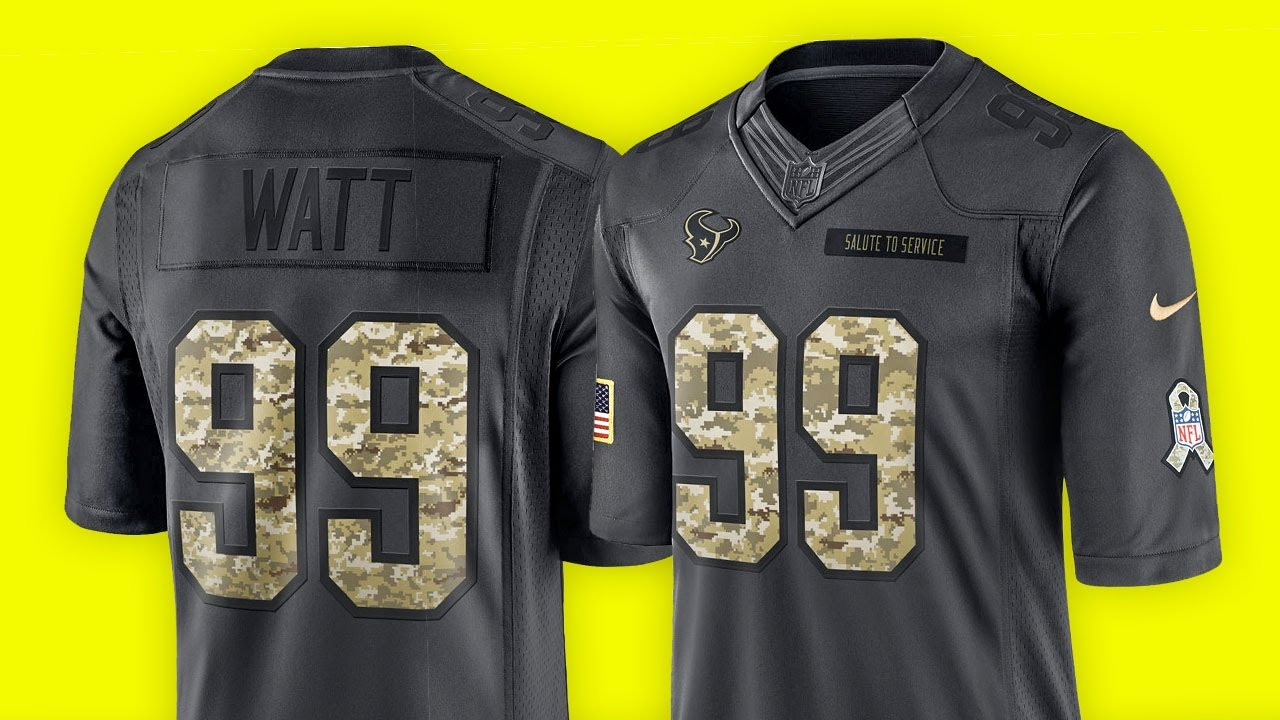 sports shoes 02d07 f052a Was ist SALUTE TO SERVICE? - NFL Trikot Review (fanatics.com) | Tomy Hawk TV