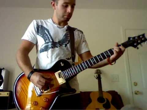 Alter Bridge - Blackbird (guitar cover - complete with SOLO)