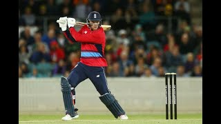 Cricket: David Willey hits Nathan Lyon for 34 off one over in England T20 win