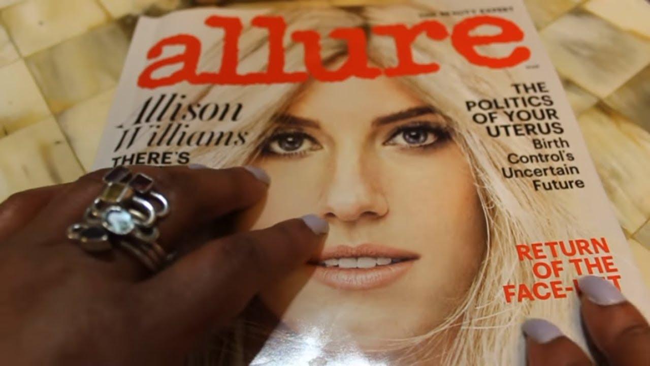 ASMR Quick Allure 3/2017 Magazine Flip (whispering, page ...