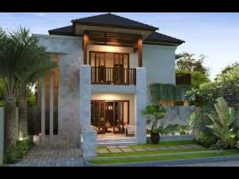 Desain Rumah Bali Minimalis Lantai 2 YouTube