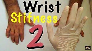 جلسة علاج طبيعي لحالة تيبس اليد و الرسغ ج 2 PT session for wrist stifness post fracture