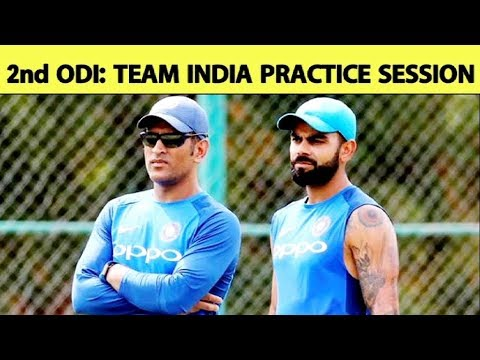Watch: Virat Kohli, MS Dhoni along with team hit the nets ahead of 2nd ODI at Nagpur | Ind vs Aus