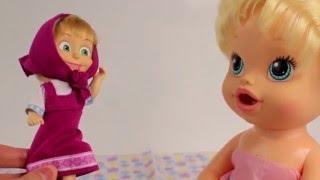 Barbie bebek karikatür doktor