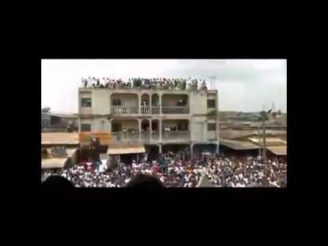 Bain de foule du Dr AbdoulMadjid à Abidjan
